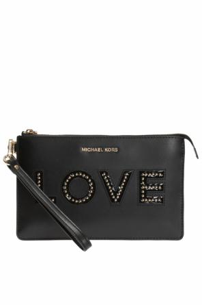 Clutch with lettering od Michael Kors