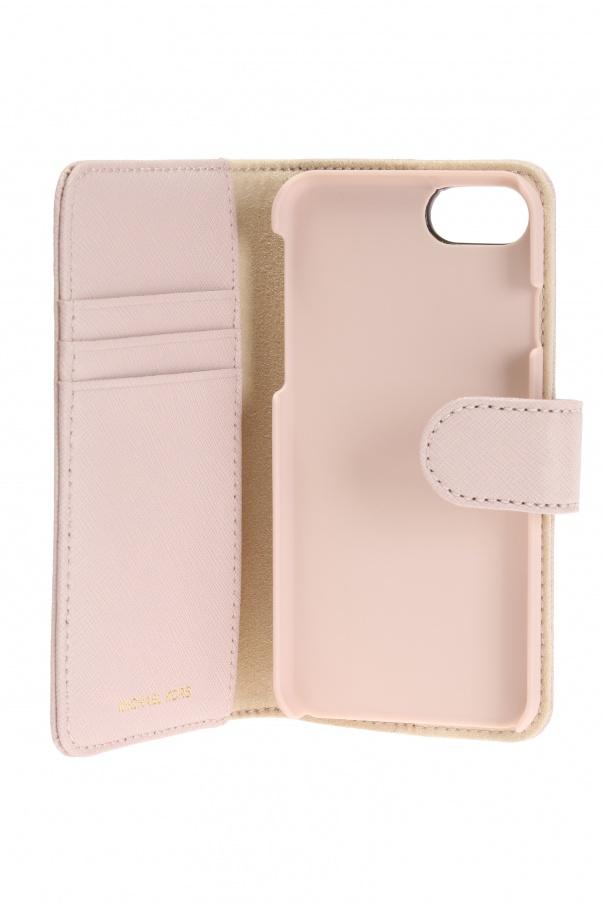 magnetic tab iphone 7 case michael kors vitkac shop online. Black Bedroom Furniture Sets. Home Design Ideas