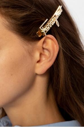 Hair clip with logo od Salvatore Ferragamo