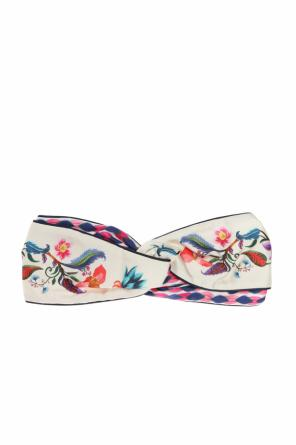 Patterned headband od Salvatore Ferragamo