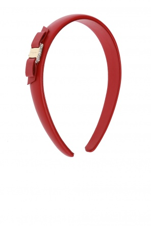 Logo hairband od Salvatore Ferragamo