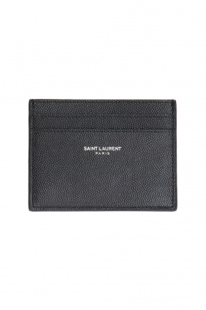 Etui na karty z logo od Saint Laurent