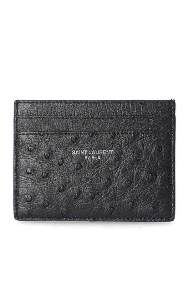 Saint Laurent Card case with logo