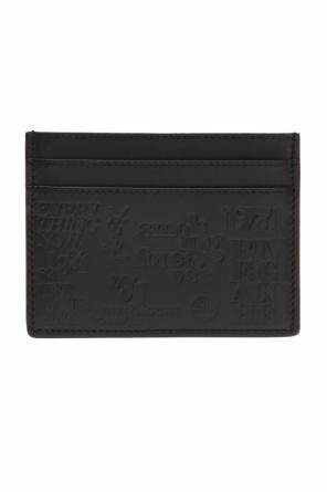 Card case with embossed logo od Saint Laurent