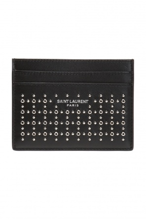 Studded card case od Saint Laurent