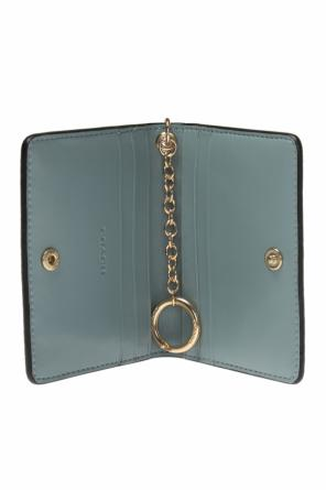 Card holder with a key ring od Coach