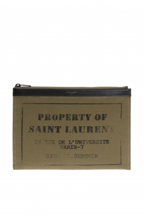 Logo tablet case od Saint Laurent