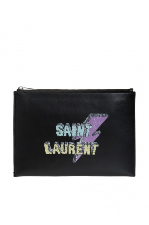 Etui na tablet z logo od Saint Laurent