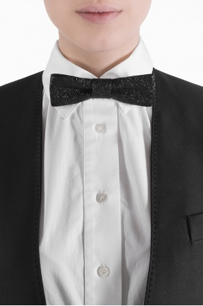 Leather bow tie od Saint Laurent