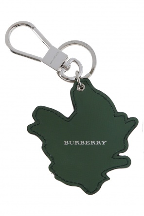 'beasts leather' printed key ring od Burberry