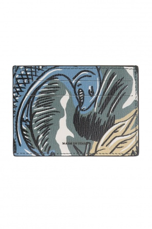 'beasts' printed card case od Burberry