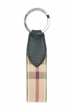 Checked key ring od Burberry