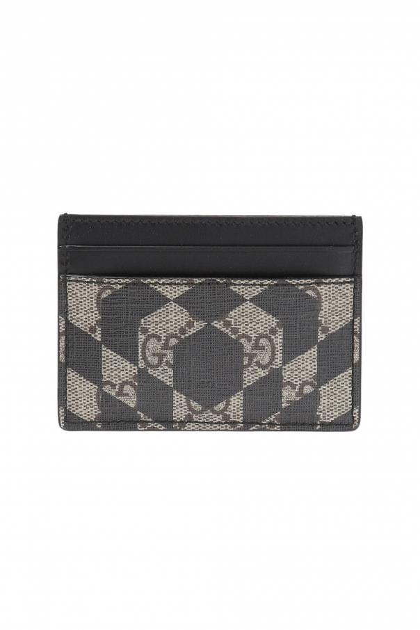 4d547f8a2e7 GG Supreme  canvas card case Gucci - Vitkac shop online