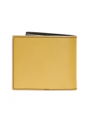 Bi-fold wallet with applique od Burberry