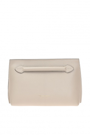 Logo-embossed clutch od Burberry