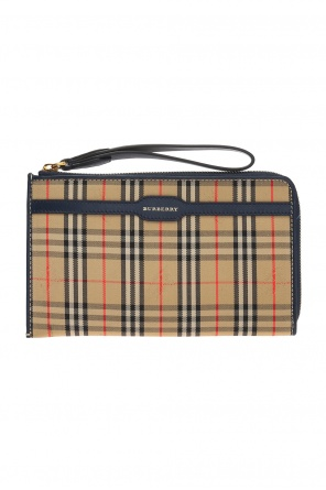 Document case with a plaid pattern od Burberry