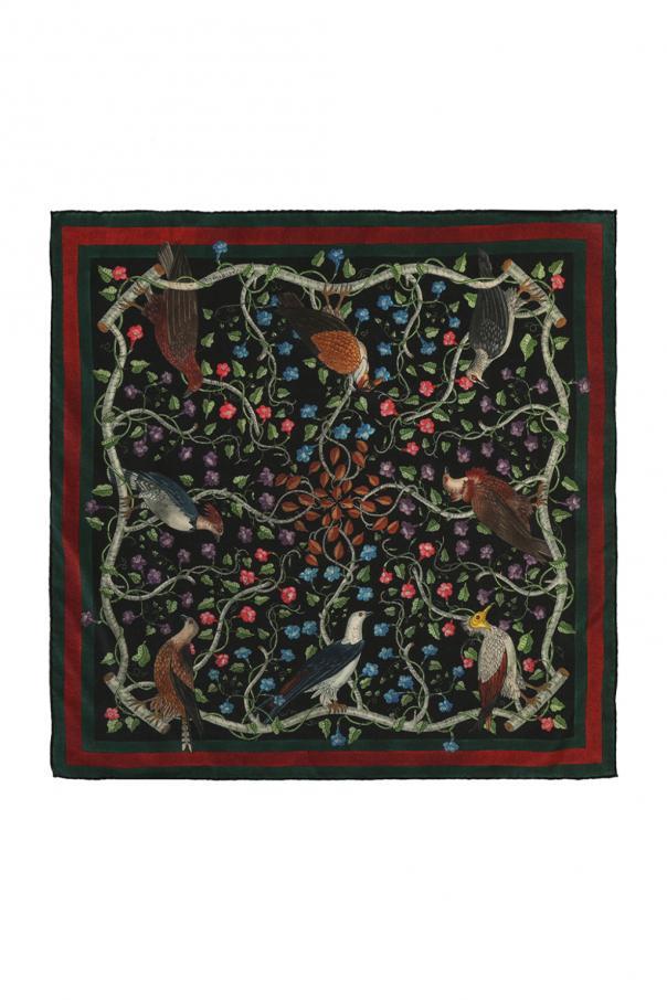 f8c6617388 Rapaci' printed pocket square Gucci - Vitkac shop online