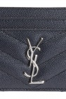 Saint Laurent Etui na karty z logo