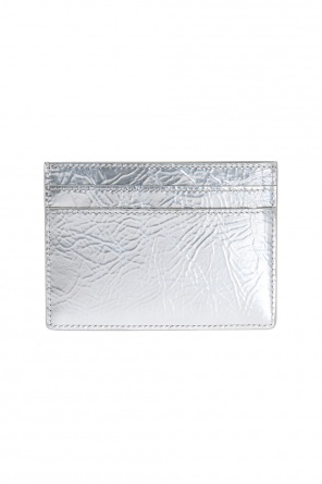 Metal logo card case od Saint Laurent Paris