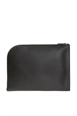 Printed leather briefcase od Alexander McQueen