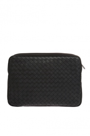 Cosmetics bag with an 'intercciato'  braid od Bottega Veneta