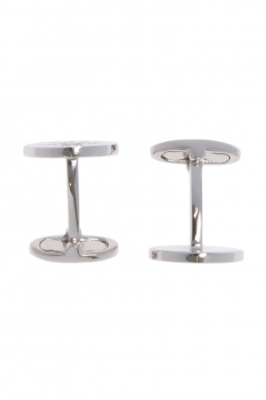 Silver cuff links od Gucci