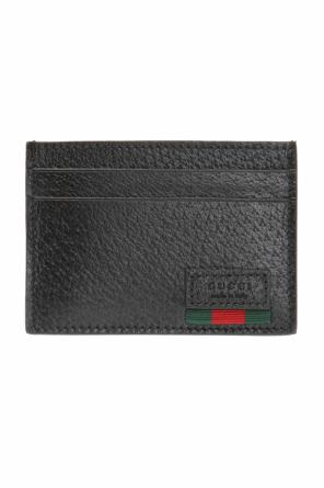 Card case with money clip od Gucci