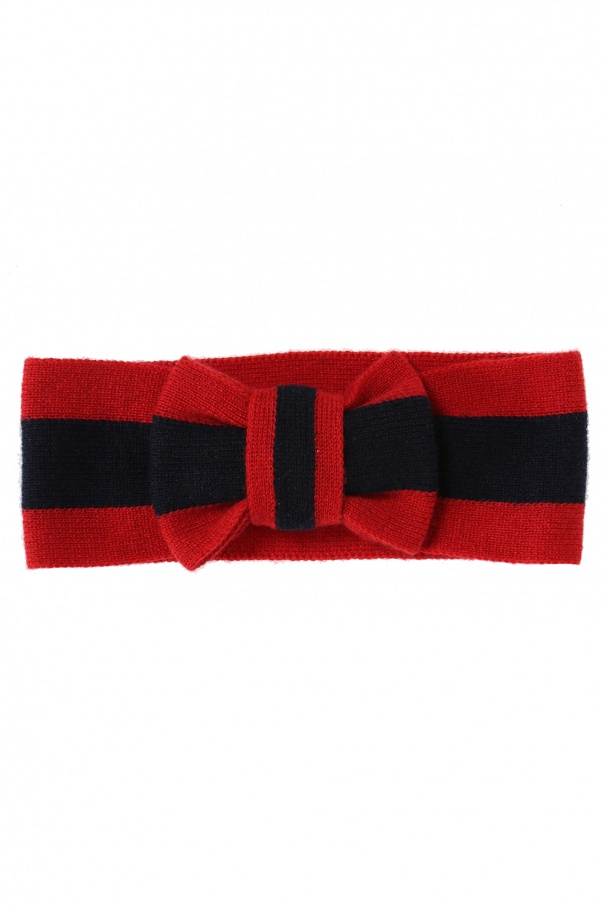 Gucci Kids Head band with bow