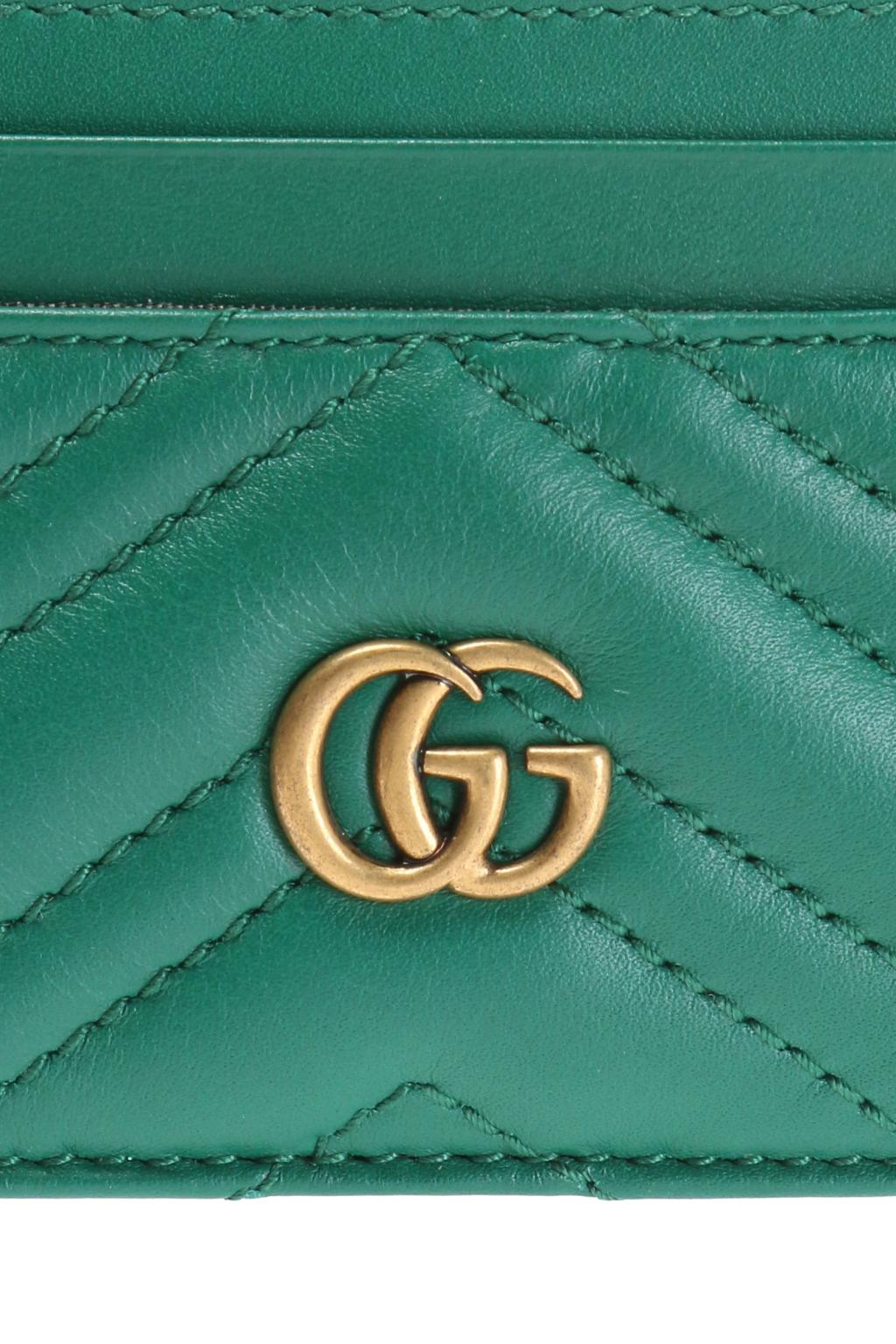 Gucci Etui na karty 'GG Marmont'