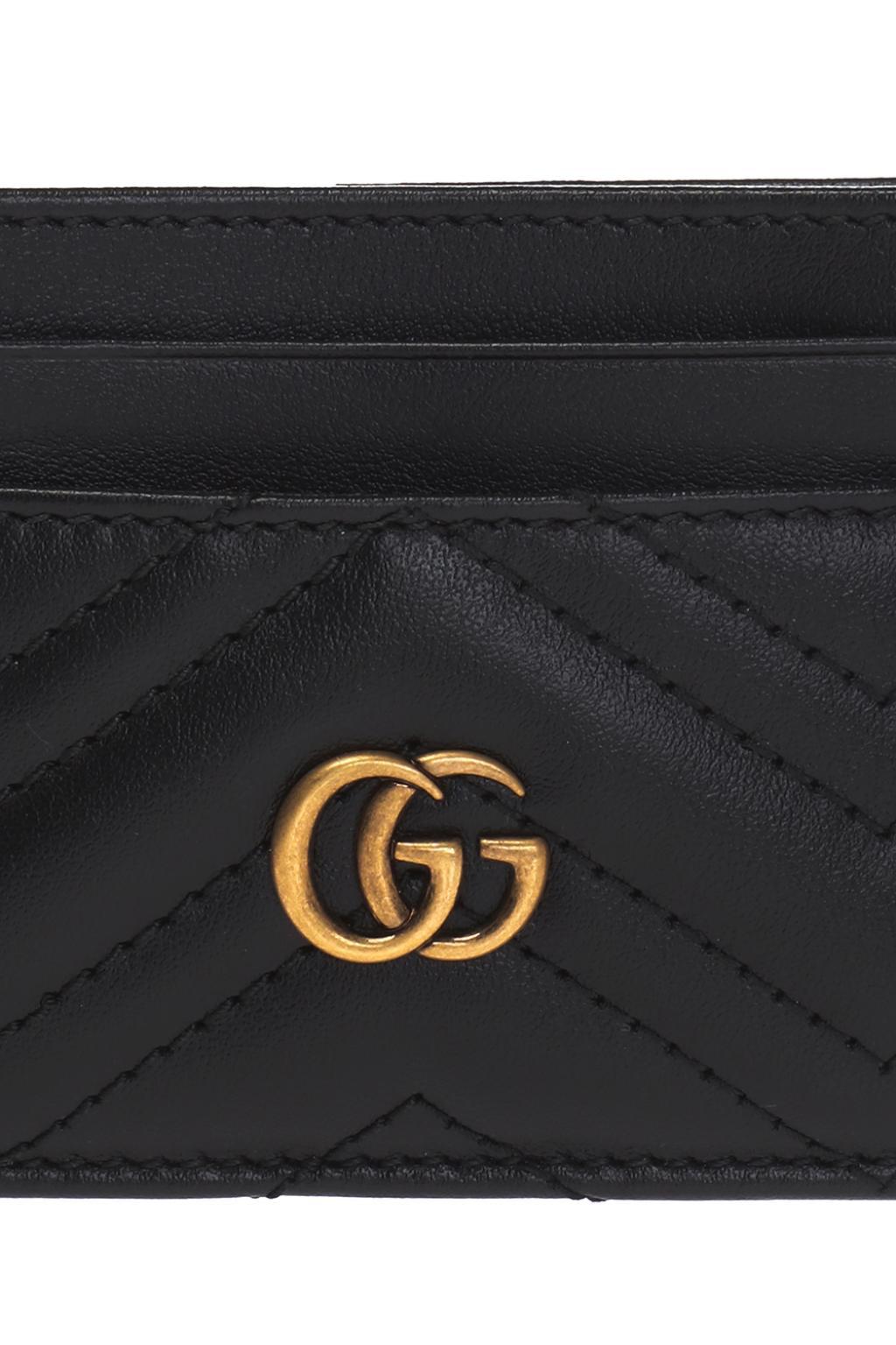 Gucci Pikowane etui na karty