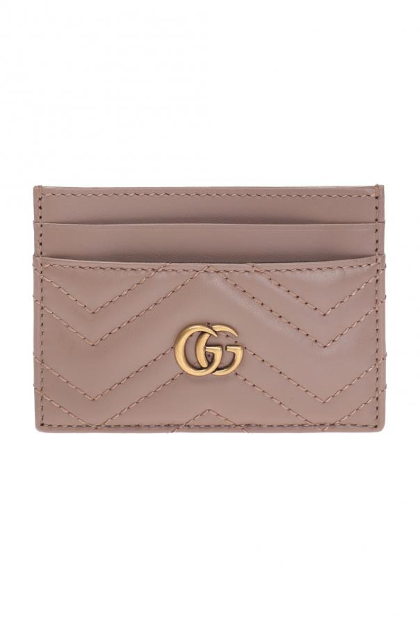 Gucci Quilted card case