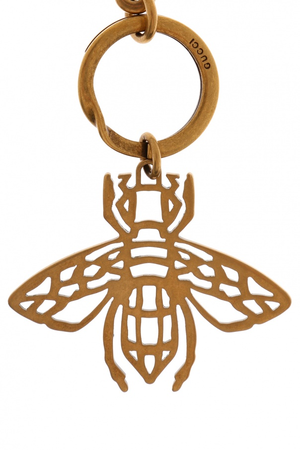 40fa0588c105a6 Bee charm key ring Gucci - Vitkac shop online