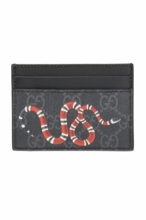 Card case with snake motif od Gucci