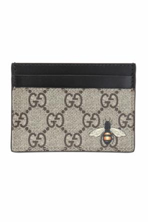 Bee motif card case od Gucci