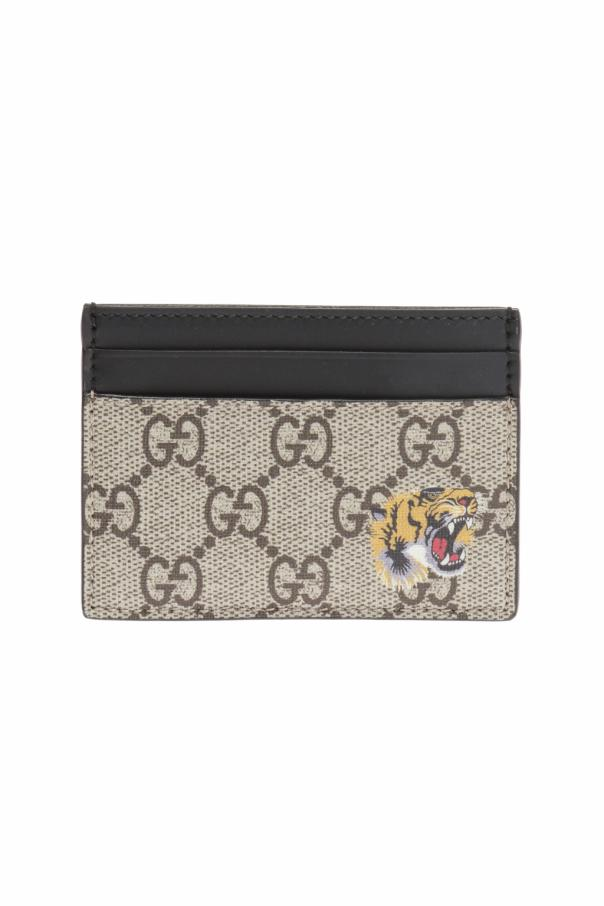 aead5b435d2 Tiger motif card case Gucci - Vitkac shop online