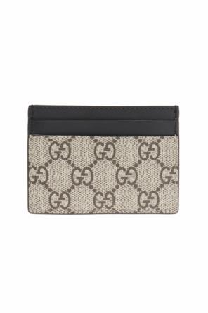 Tiger motif card case od Gucci