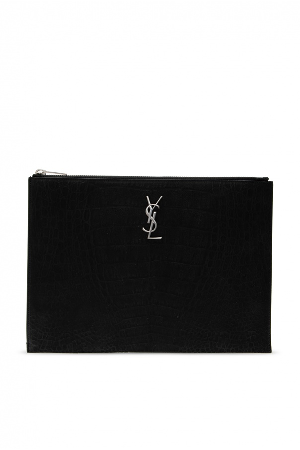 Saint Laurent 'Monogram' tablet case