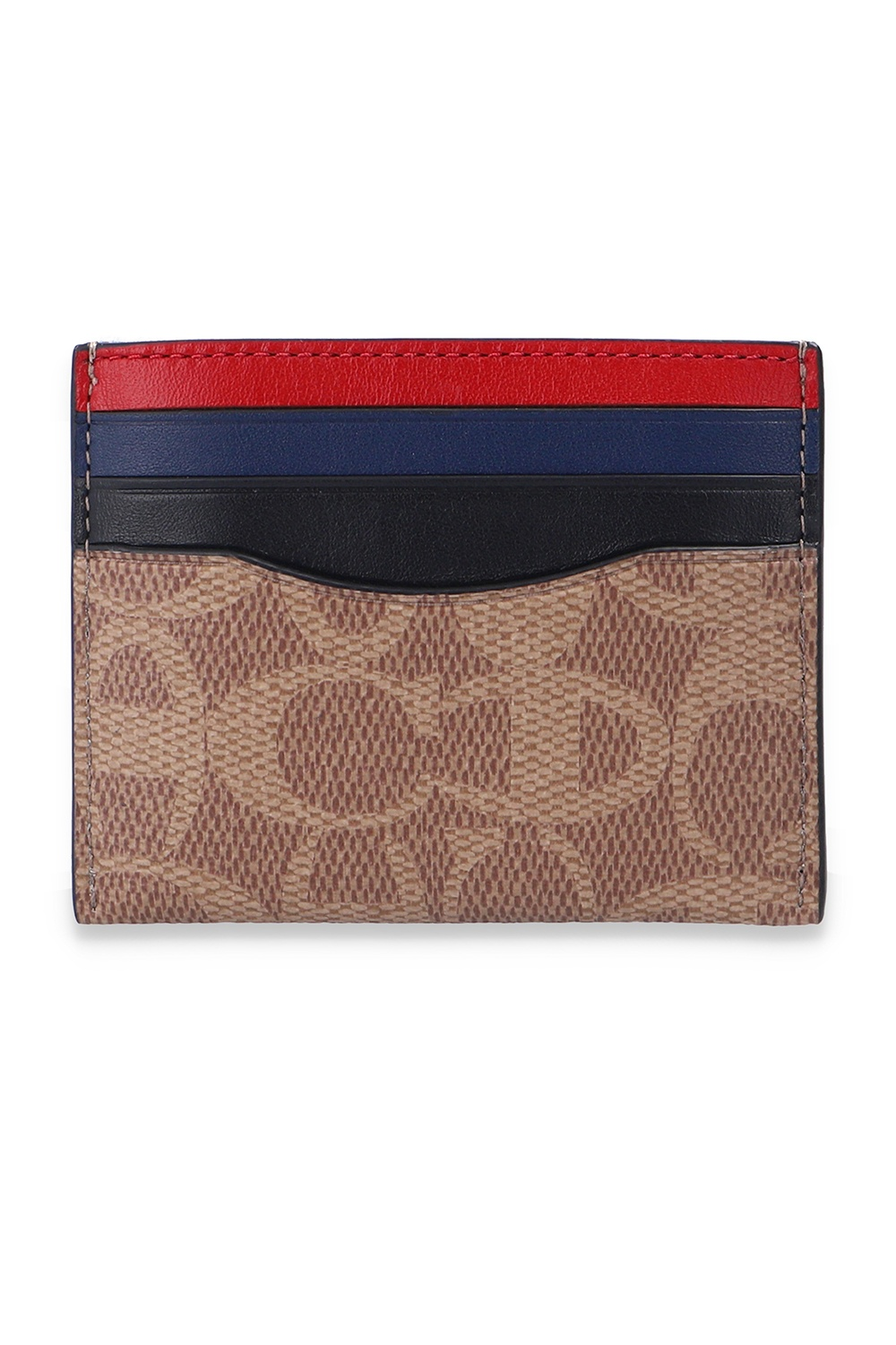 Coach Card holder with logo