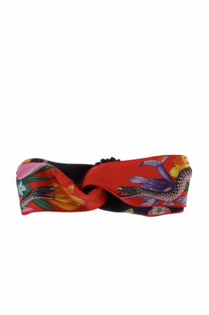 'flora snake' head band od Gucci