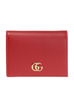 Wallet with a metal logo od Gucci