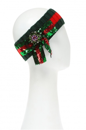 Head band with bow od Gucci