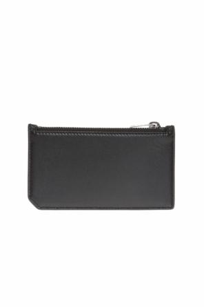 Animal motif card case od Saint Laurent