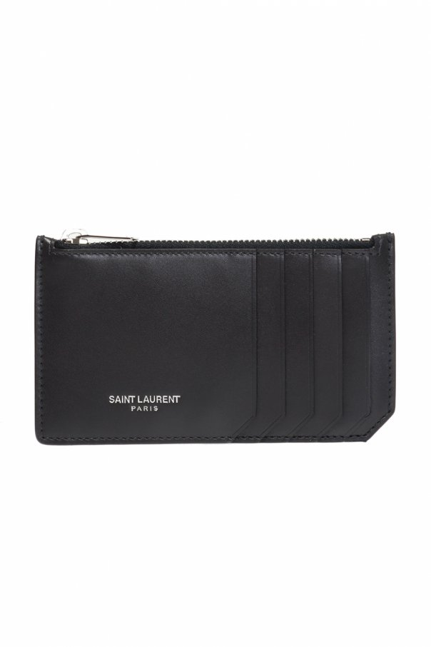 Branded card holder od Saint Laurent