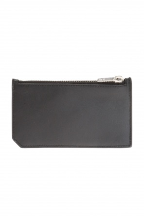 Card case with patch od Saint Laurent