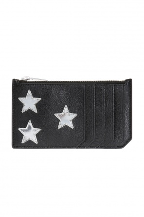 Patched card case od Saint Laurent Paris