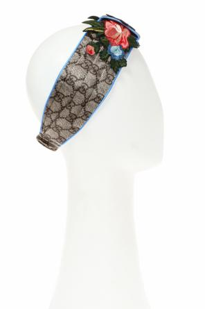 Embroidered head band od Gucci