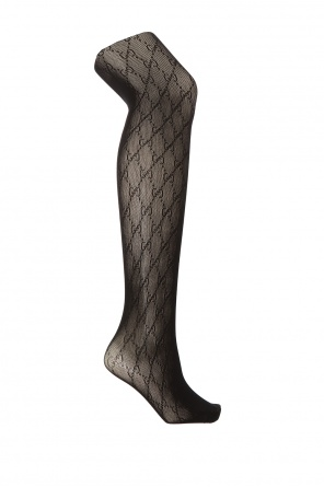 Patterned tights od Gucci