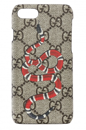 'kingsnake' printed iphone 7 case od Gucci