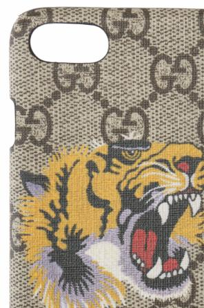 Patterned iphone 7 case od Gucci