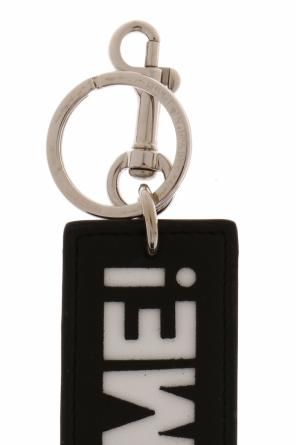 Inscription embossed key ring od Stella McCartney
